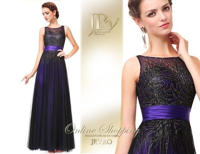 Rochie de seara Celia Purple
