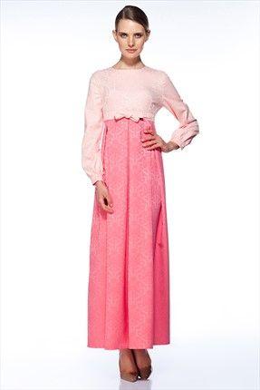 Gönül Kolat - Kadın Tekstil - Renkli Elbise G076 sadece 279,99TL ile Trendyol da