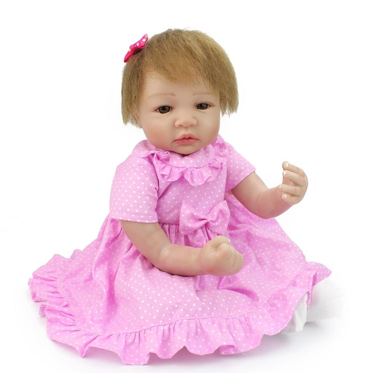 87.99$  Buy now - http://alijk4.shopchina.info/1/go.php?t=32804915509 - NPKDOLL 19 Inch 48 CM Lifelike Doll Handmade Realistic Baby Doll Toy For Girl Soft Silicone Baby Doll Gifts For Kids 87.99$ #buyininternet