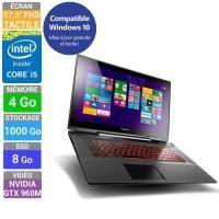 ORDINATEUR PORTABLE Lenovo PC Portable Y70-70 Touch (80DU00C7FR)