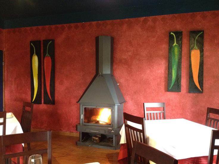 Restaurante Paprika, en Villanueva de la Vera. Fenomenal, el sitio y cómo se come.