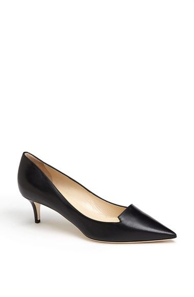 Jimmy Choo - - this shoe is your reality - - you need to walk, girl!! Practical but luxe.