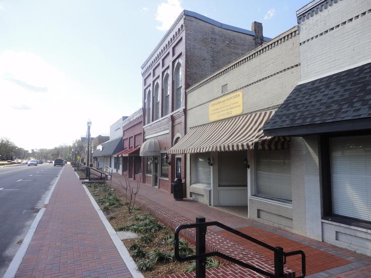 Jonesboro Georgia After A Streetscape Facelift