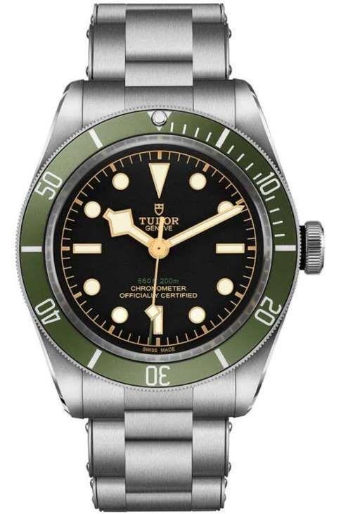 d908dd00fef Tudor Black Bay Green for Harrods Special Edition   Men's Luxury ...