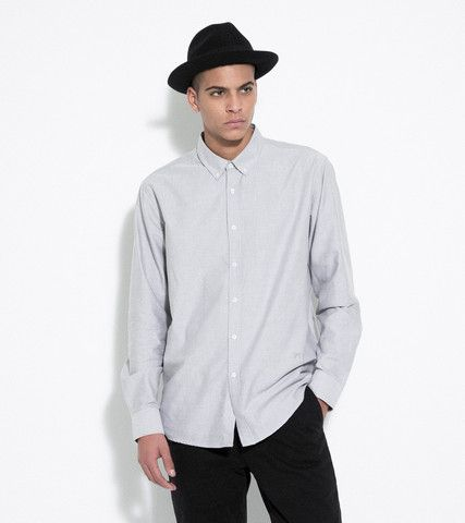 Soulland SS14 - GOLDSMITH OXFORD SHIRT – GREY