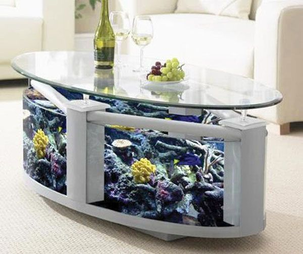aquarium  dinning  table | 20 Contemporary Coffee Tables, Tips for Selecting Coffee Tables for ...