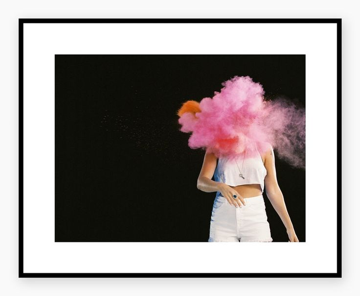 HELJE POLAROIDS #fashionposter #tovelo #pink #clouds #interior #poster