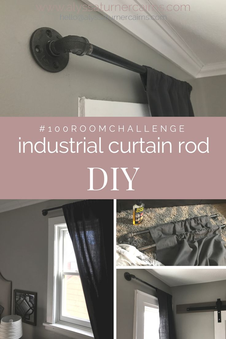 17 Best Ideas About Pipe Curtain Rods On Pinterest Boys Room Ideas Industrial And Industrial