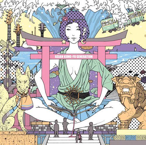 #Art Asian Kung-Fu Generation album cover #Illustration
