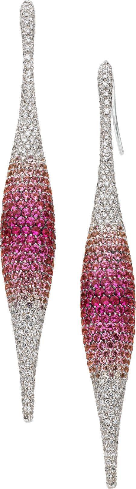 Pink Sapphire, Diamo beauty bling jewelry fashion