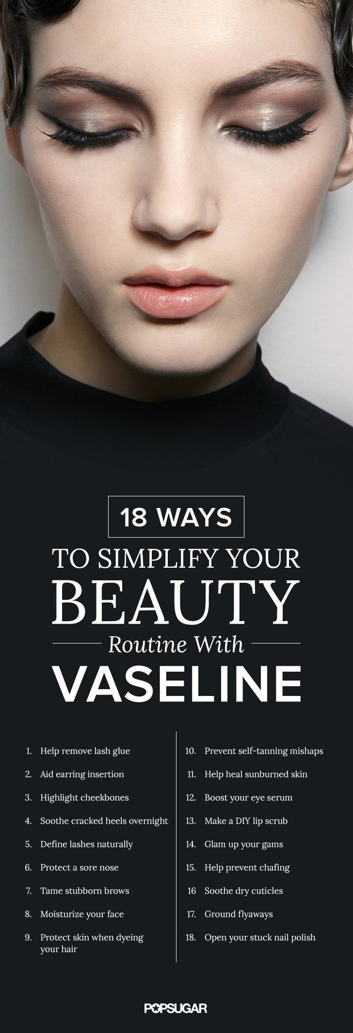 18 Ways to Simplify Your Beauty Routine With Vaseline