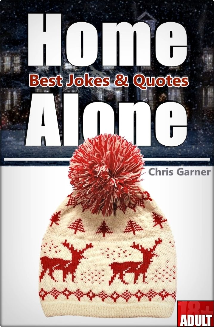 Home Alone: Best Memes, Jokes & Quotes in One Kindle.  So you like comedy?  It's time to let your self go into the funny stuff!   If you're checking this book out...  You are clearly a fan of the legendary movie  Home Alone featuring Macaulay Culkin...   I encourage you to take a leap of faith and download this  great and funny comedy book, which You wont regret!