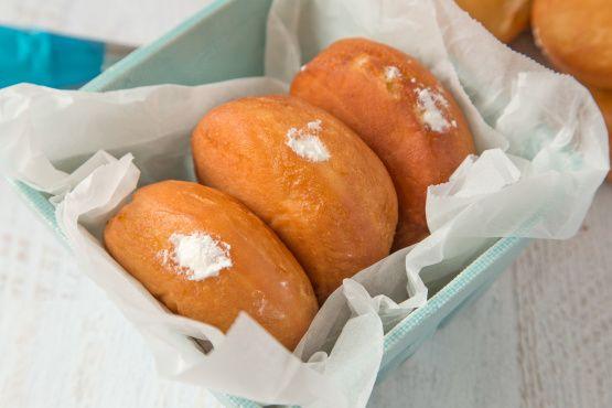 Dunkin Donuts Vanilla Filled Doughnuts (Copycat)