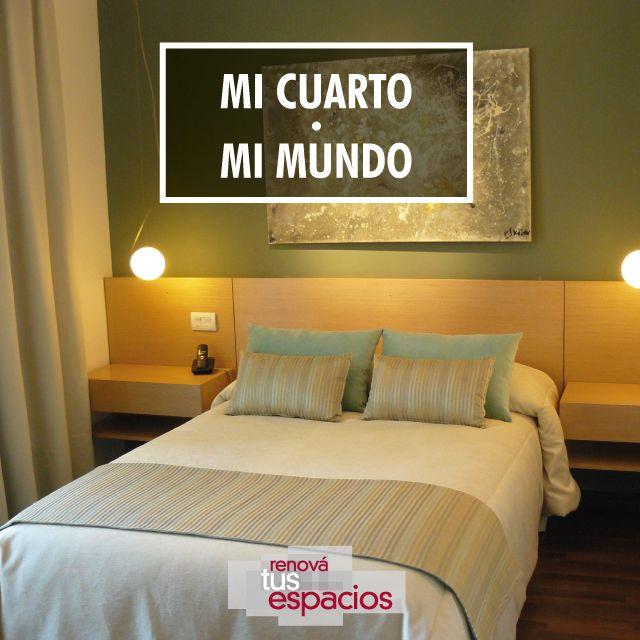 El placer de un dormitorio acogedor #renovate #habitaciones #dormitorio #diseño #remodelación