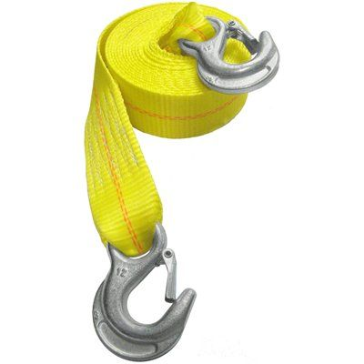Secure Tite 2-in x 15-ft Emergency Tow Strap