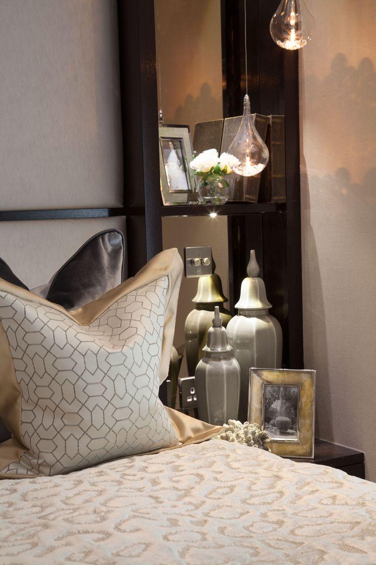 Master Bedroom shelving detail  | JHR Interiors