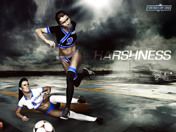 wallpapers of girl football - photo #3