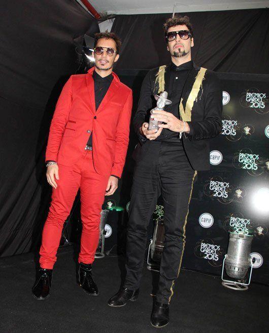 Dante Spinetta y Emmanuel Horvilleur -  Premios Gardel 2015
