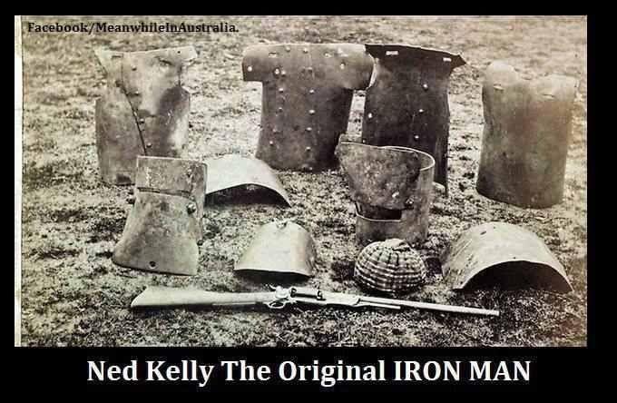 -Ned Kelly armor
