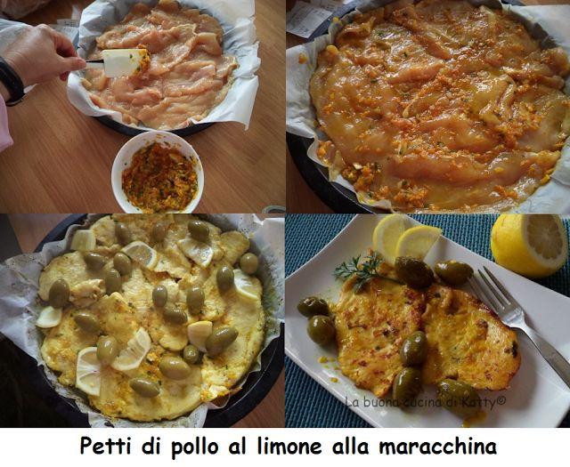 La buona cucina di Katty: Petti di pollo al limone alla marocchina - Chicken breasts with lemon Moroccan