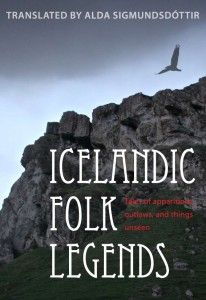 Book: Icelandic Folk Legends: Tales of Apparitions, Outlaws and Things Unseen, by Alda Sigmundsdottir.  In this collection of 15 Icelandic folk legends, we get a glimpse of the world-view of the Icelanders in centuries past as they endeavored to understand and cope with the natural phenomena around them.