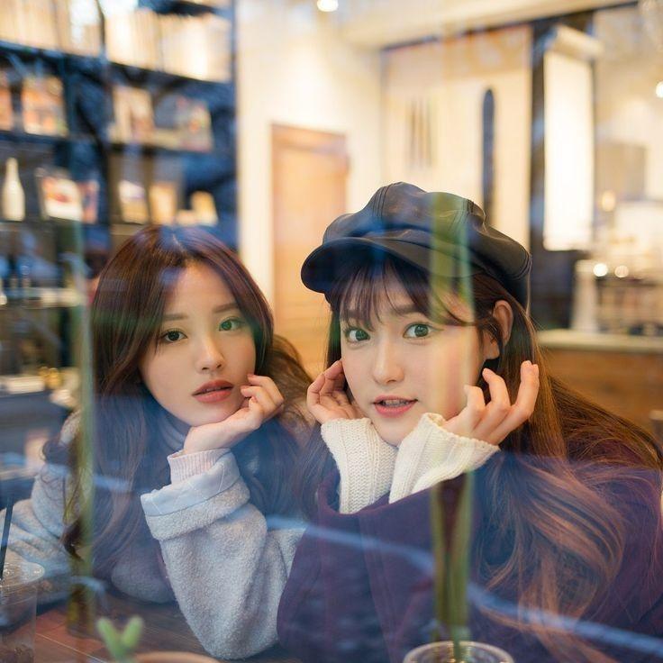 Y N As Kpop Idol Bff Pictures Girl Friendship Ulzzang Girl