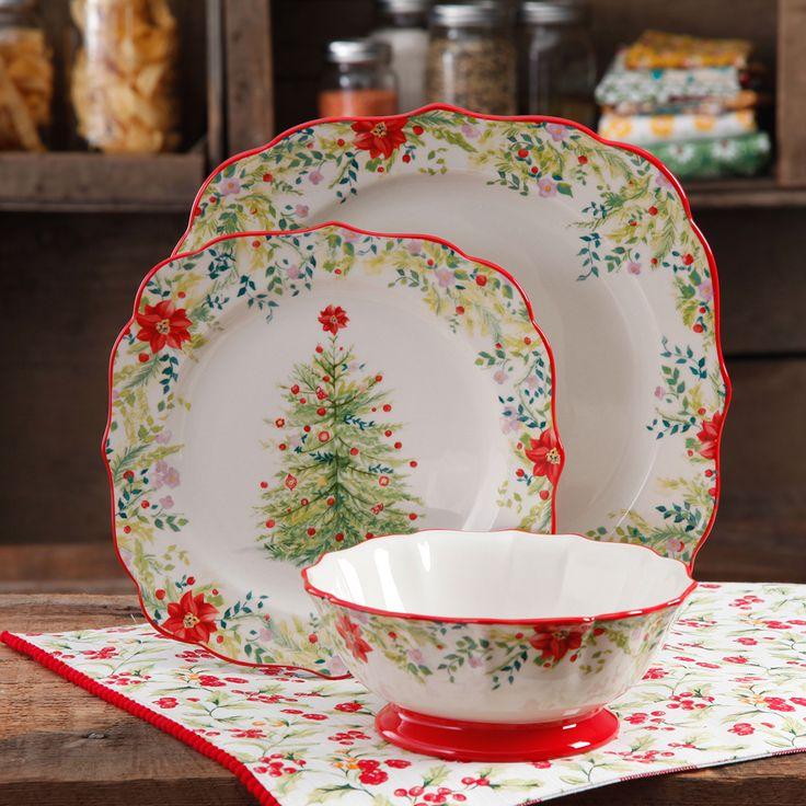 Christmas Dinnerware Walmart