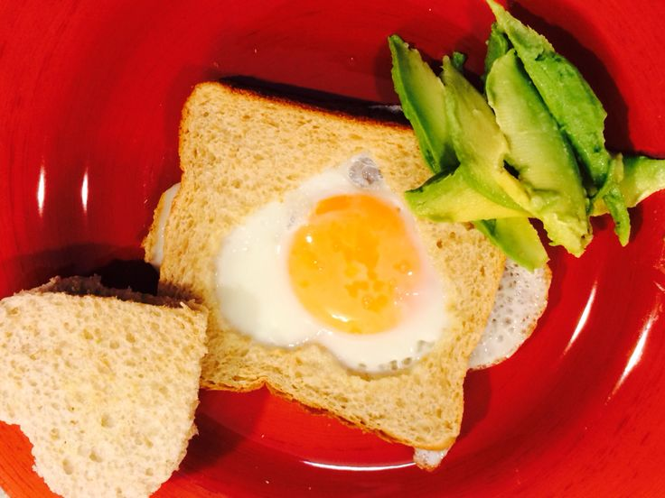 Hearty egg with wholemeal toast