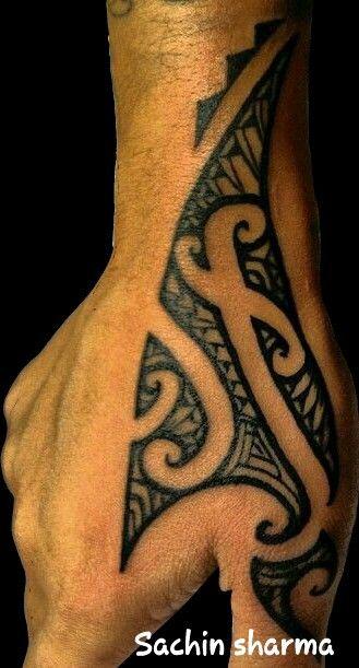 Maori#tattoo#hand#tattoo#tattoos#tattoo by sachin sharma