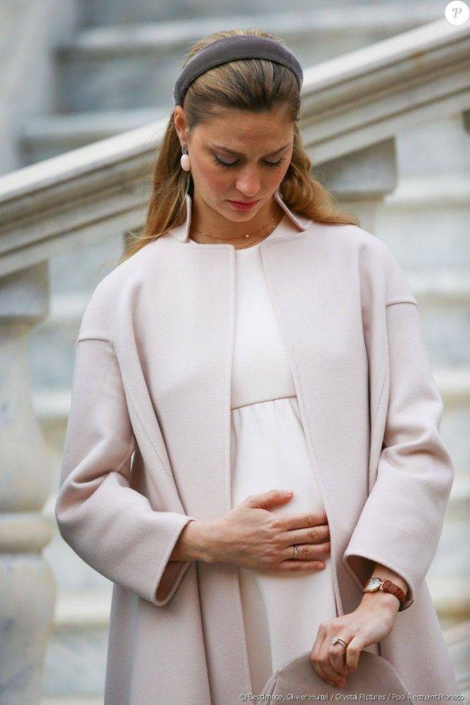 19 November 2016 - Monaco National Day 2016 - dress by Armani Privé
