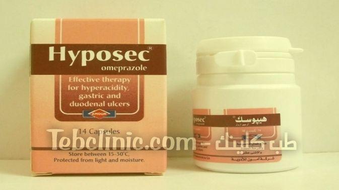 دواء هايبوسيك لعلاج قرحة المعدة Omeprazole Shampoo Bottle Moisturizer
