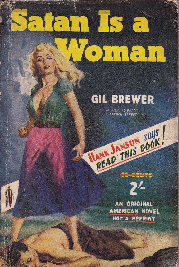 Retro Book Cover Art : Best images about pulp fiction on pinterest