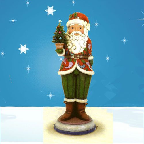 Santa nutcracker 6 ft tall jim shore collection jim for 4 foot nutcracker decoration