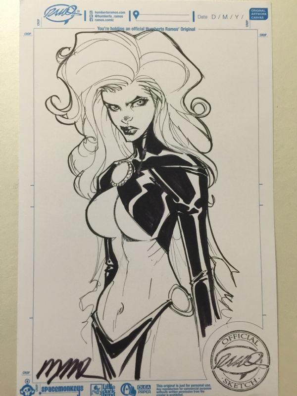 Goblin Queen by Humberto Ramos, in Royce Foo's Humberto Ramos Comic Art Gallery Room                                                                                                                                                                                 More
