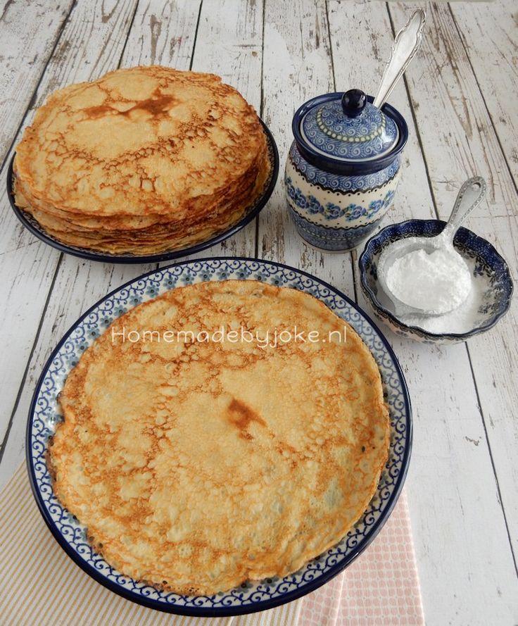 Het is vandaag nationale pannenkoekendag en daarom deel ik vandaag ik het basisrecept pannenkoeken met jullie waarmee je eindeloos kunt variëren.