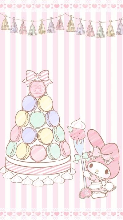 My Melody (*^◯^*) #macaron
