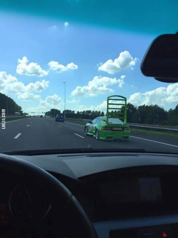To się nazywa spoiler! #duży #spoiler #car