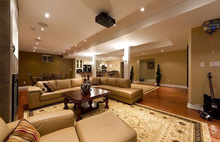 Basement Family Room Ideas Open Concept Basement