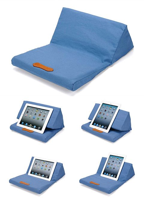 How to Make a Pillow Stand for iPad -- via wikiHow.com