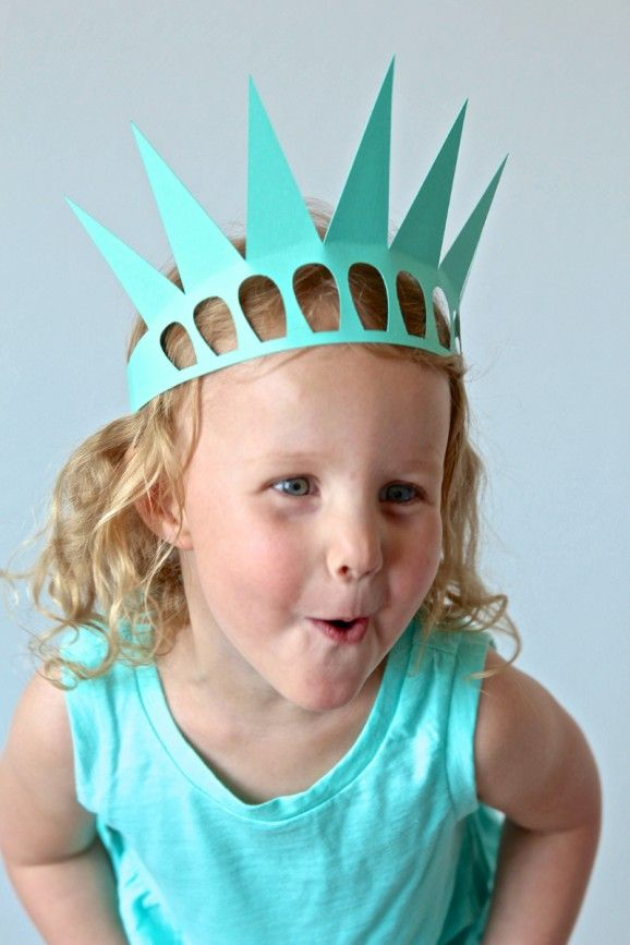 Make this Easy Statue of Liberty Crown