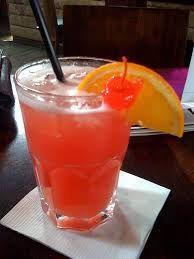 Hawaiian Margarita cocktail drink