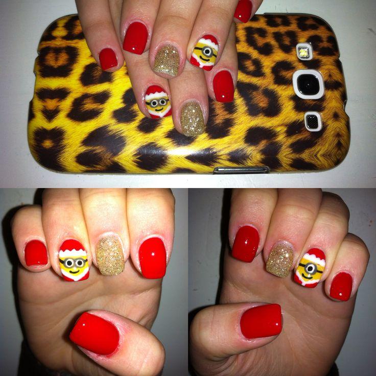 Ricostruzione unghie con minions