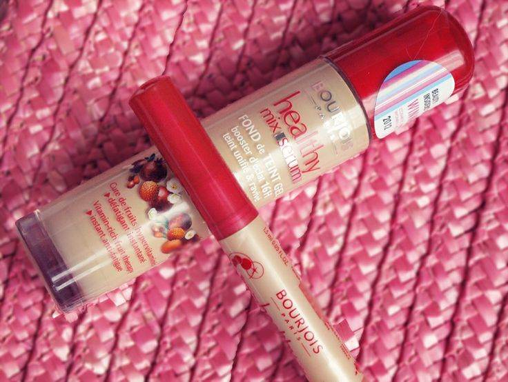 The Black Pearl Blog - UK beauty, fashion and lifestyle blog: Bourjois Healthy Mix Serum Foundation and Touche Healthy Mix Concealer review