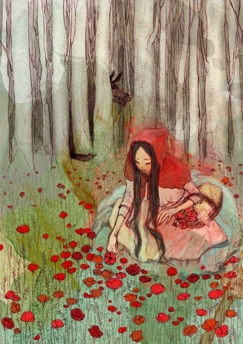 Zeeun Cha: little red riding hood