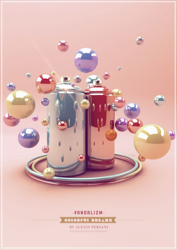 /// Colorful dreams /// by Alexis Persani, via Behance