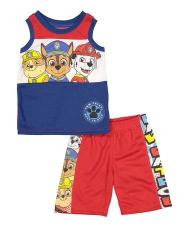 Love this PAW Patrol Red Tank & Shorts - Toddler on #zulily! #zulilyfinds