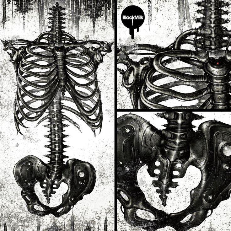 ☆ Blackmilk X Shichigoro -Mechanical Ribs :: By *Shichigoro756 ☆