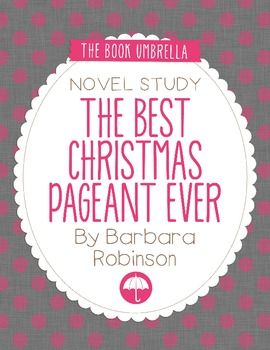 The Best Christmas Pageant Ever   Best christmas pageant ...