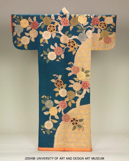 Edo-period kosode: layer upon layer of pattern