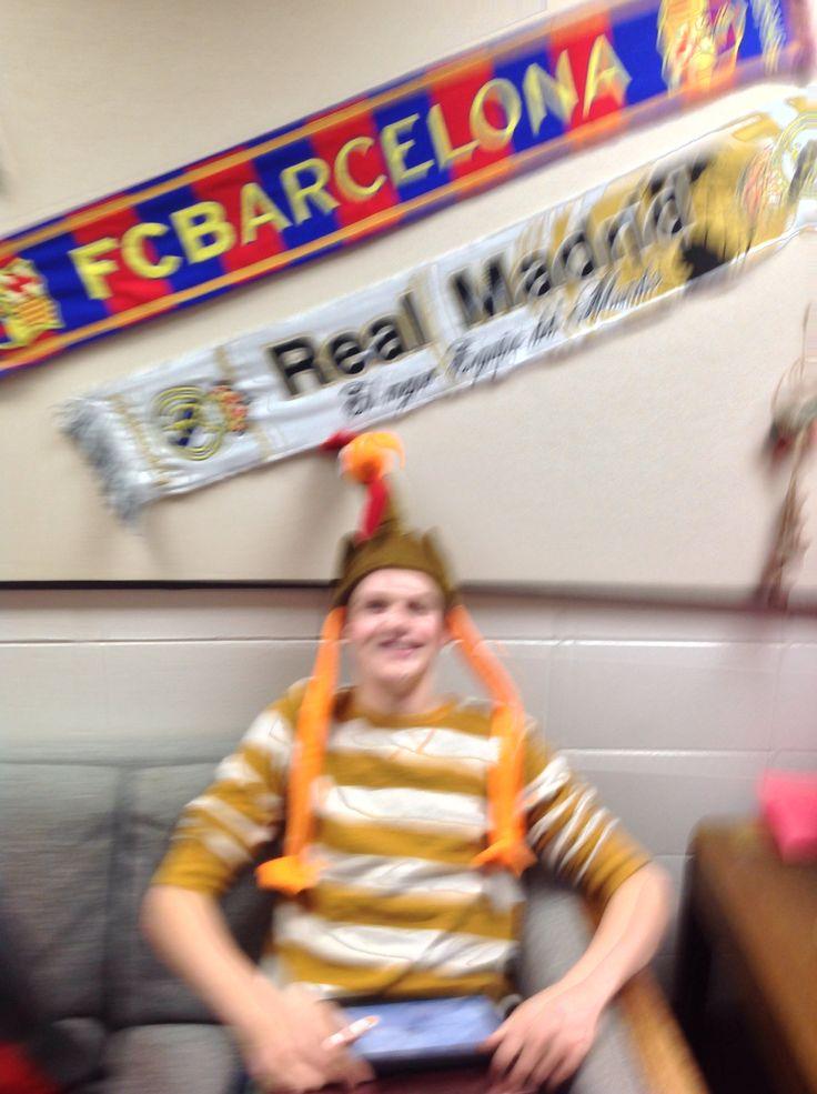 Conner's turkey hat